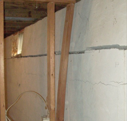 Cracked And Bowing Basement Walls Can Develop Immediately Following  Construction Or Years Later As Changes Occur Within The Soils That Surround  Your Home.