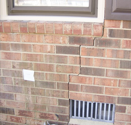 Cracked Brick Walls Wall Crack Repair
